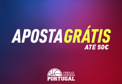 Dicas sobre Apostas NBA! Aposta Grátis Bónus 50€!