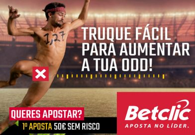 Regista-te na Betclic através do nosso site e ganha uma aposta grátis de 50 Euros