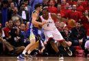 Warriors dão o troco aos Raptors
