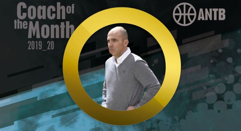Pedro Dias do Guifões SC, treinador do mês da liga feminina - NBA PORTUGAL
