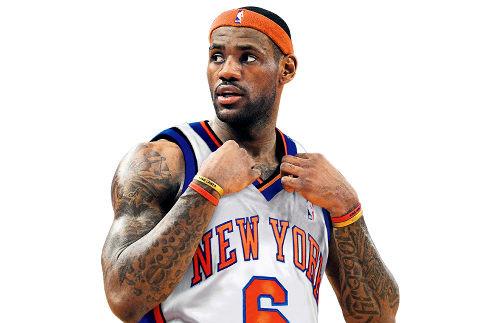 LeBron esteve perto dos Knicks em 2010