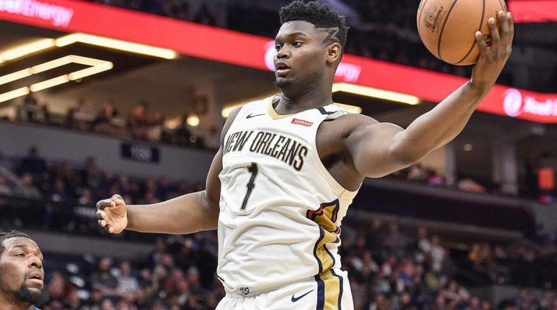 Zion Williamson poderá estar de saída dos Pelicans