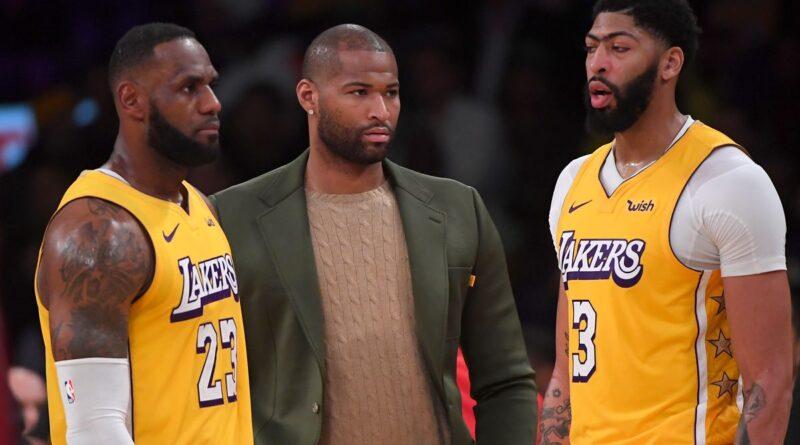 Lakers não mostram interesse em DeMarcus Cousins
