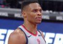 A reação épica de Russell Westbrook ao airball