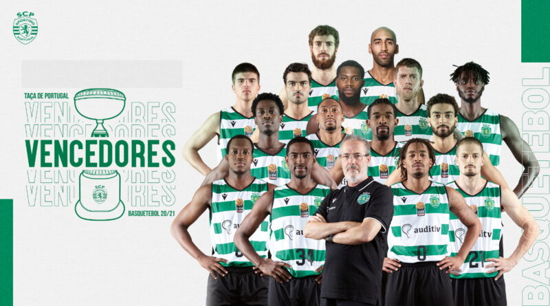 Sporting vence a Taça de Portugal