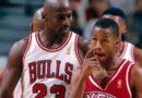 Iverson e o crossover sobre Jordan
