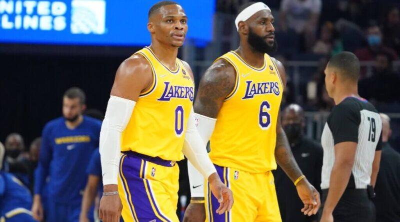 E vão seis derrotas seguidas para os Lakers