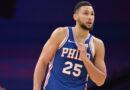 Ben Simmons voltou a treinar com os 76ers.